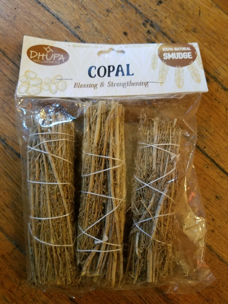 Smudge Bundles (3) Three Pack Copal