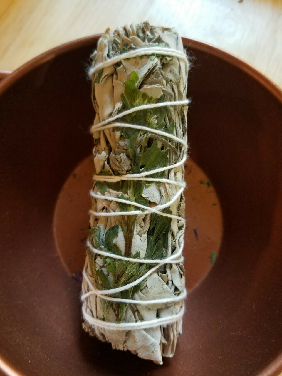 Smudge Bundle White Sage & Peppermint - approx 4""