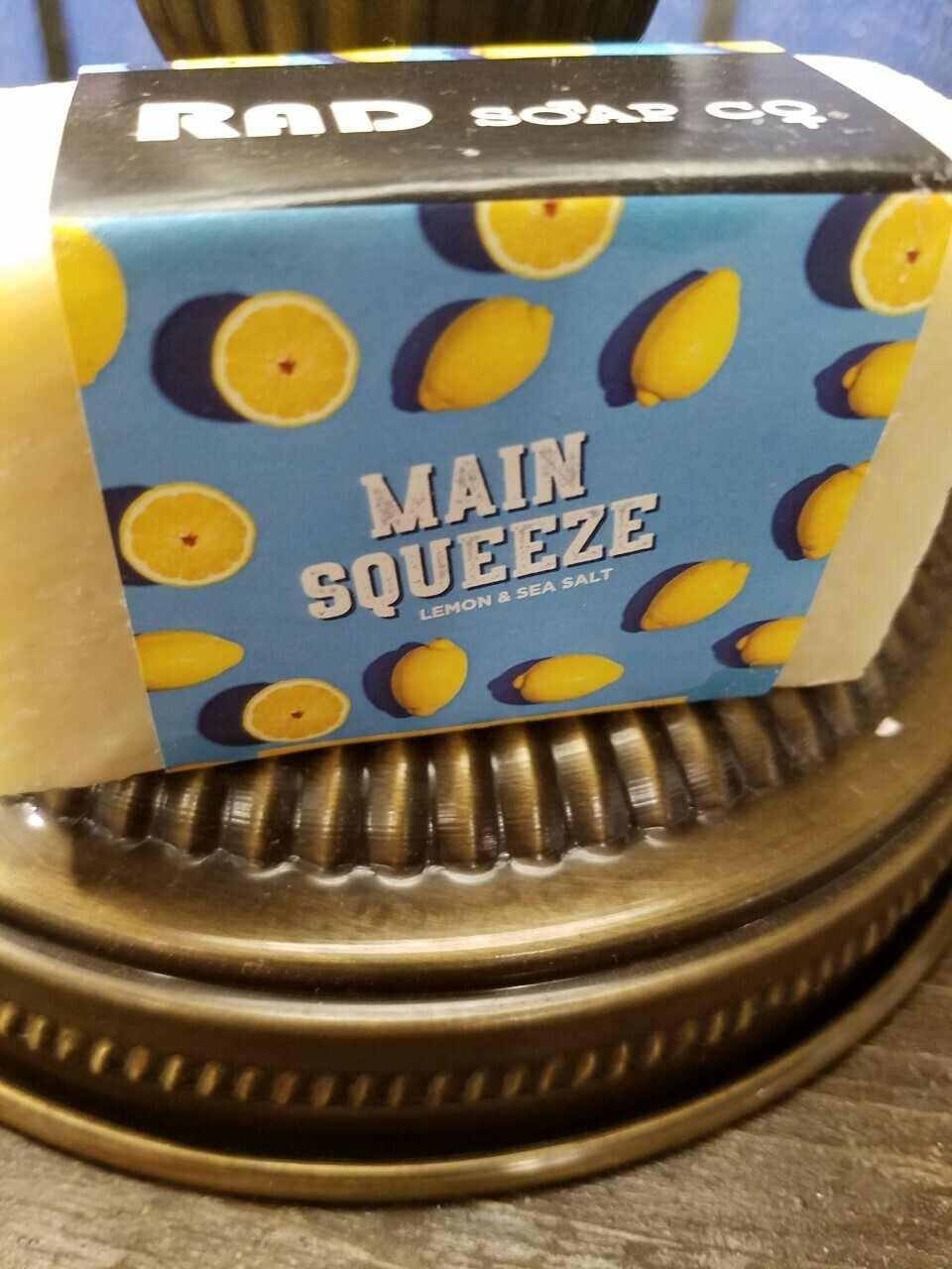Soap RAD-Main Squueze -Made in the N.Y.