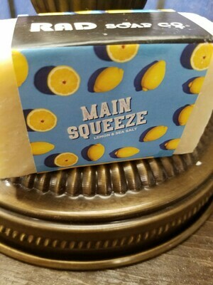 Soap RAD-Main Squeeze -Made in N.Y.