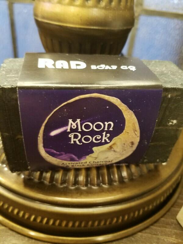 Soap RAD-Moon Rock   -Made in N.Y.
