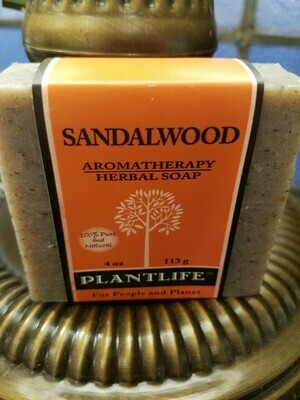 Soap Sandalwood -Made in the USA.