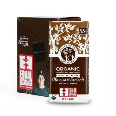 Chocolate Dark 55% -Organic , Fair Trade(One bar)