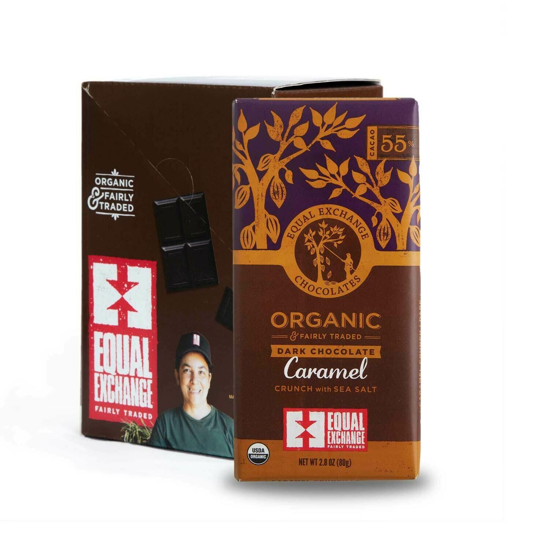 Chocolate 55% Cocoa -Organic , Fair Trade(One bar)
