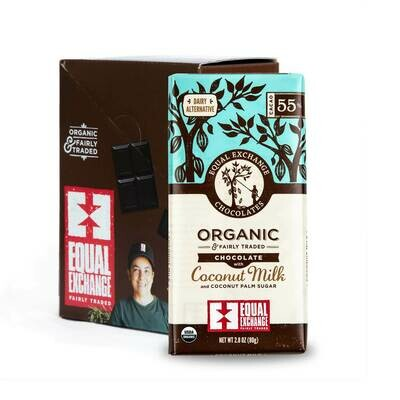 Chocolate Milk 55 % -Organic , Fair Trade(One bar)