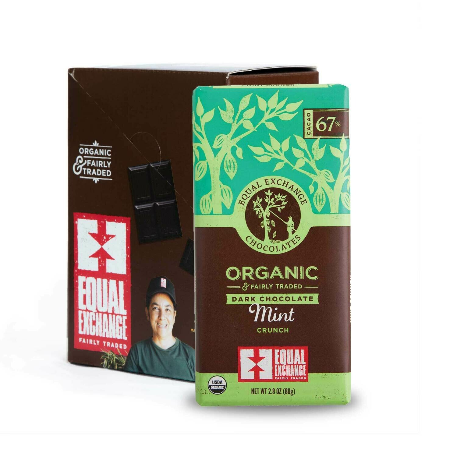 Chocolate Dark 67% -Organic , Fair Trade(One bar)