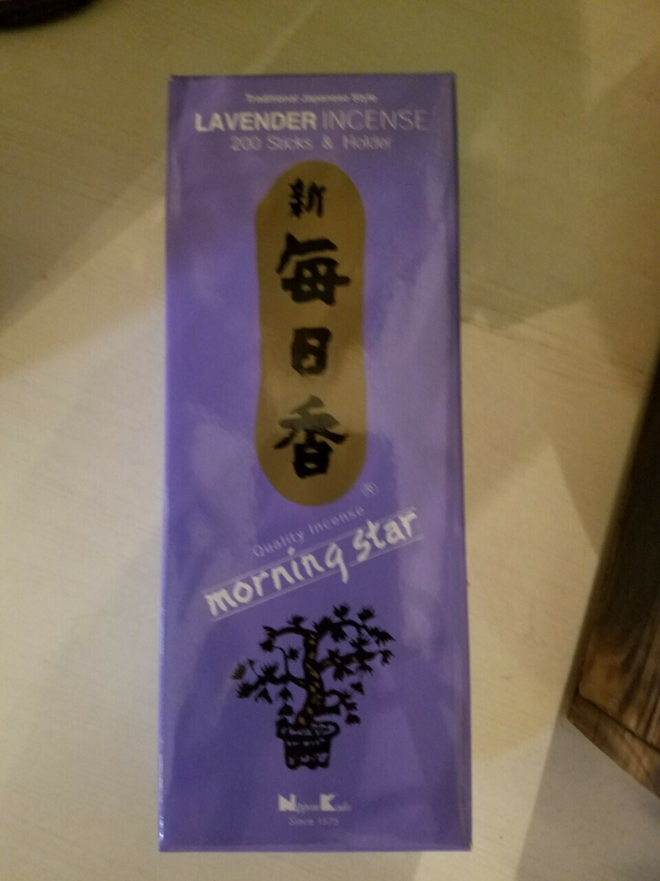 Incense Japanese Lavender- 200 Sticks