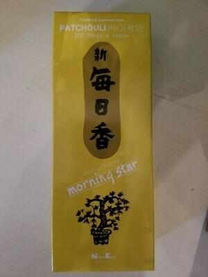 Incense Japanese Patchouli- 200 Sticks