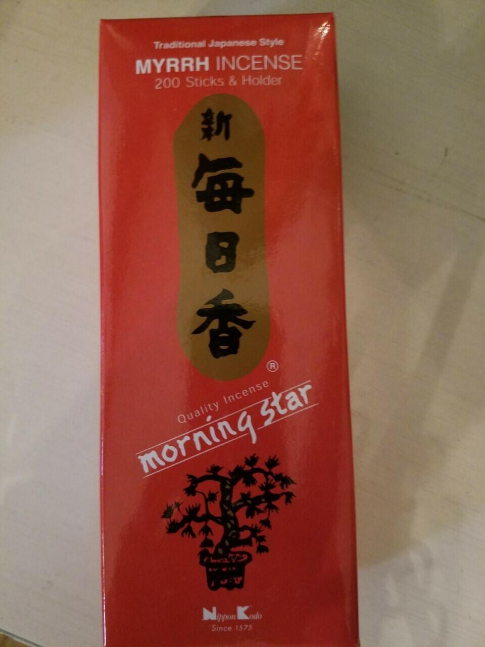 Incense Japanese Myrrh- 200 Sticks