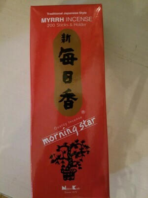 Incense Japanese Myrrh- 200 Sticks