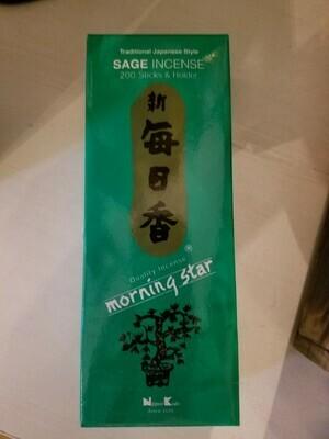 Incense Japanese Sage- 200 Sticks