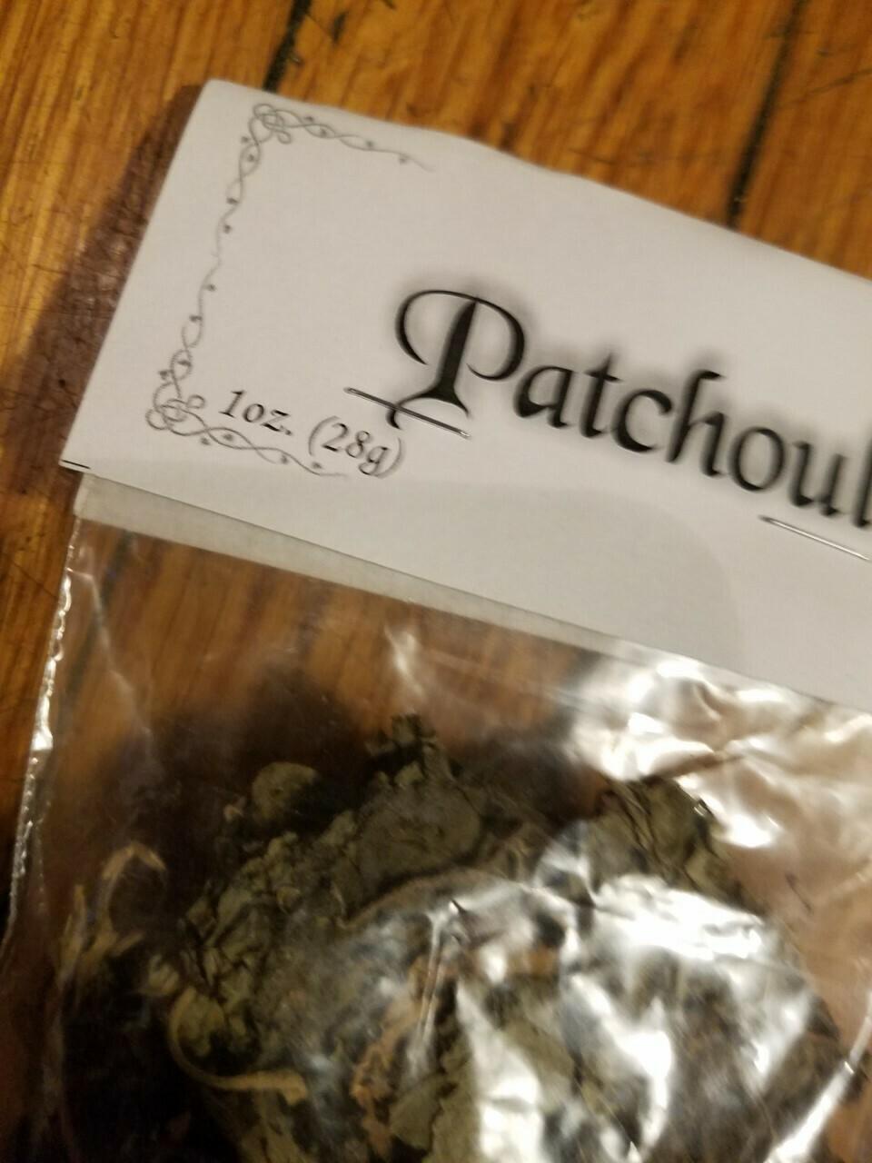 Patchouli  -1oz  Bag