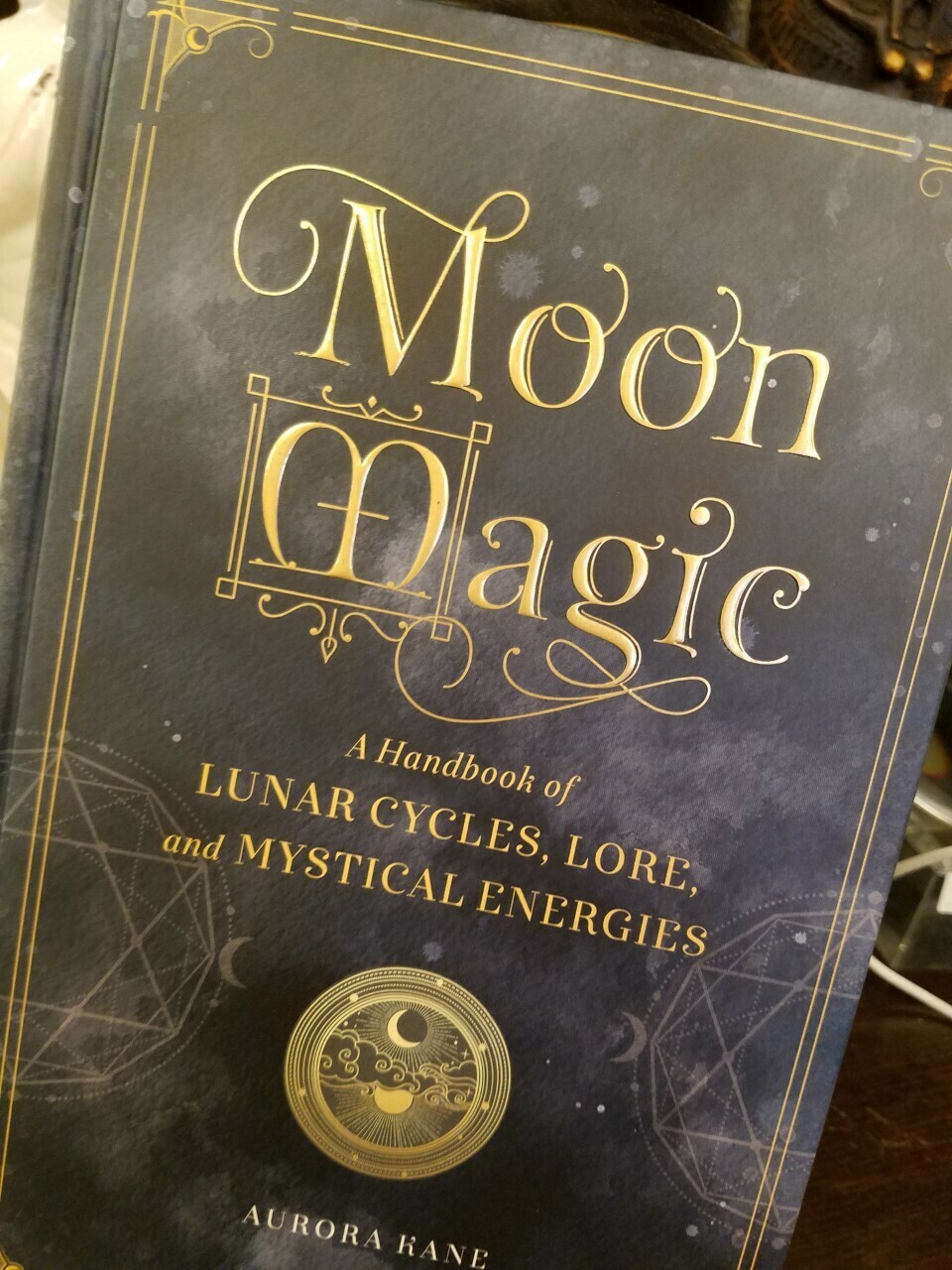 Book Moon Magic (hard cover)