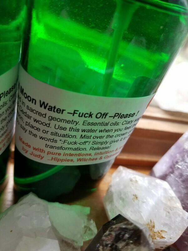 Moon Water-Fuck Off PLEASE - 4oz