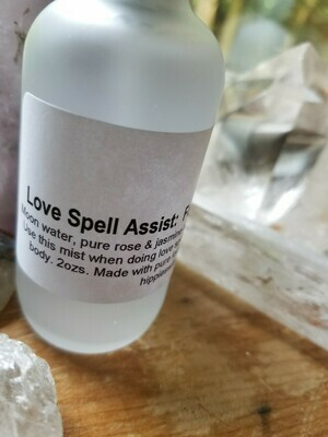 Moon Water -Love Spell Assist (2ozs glass)