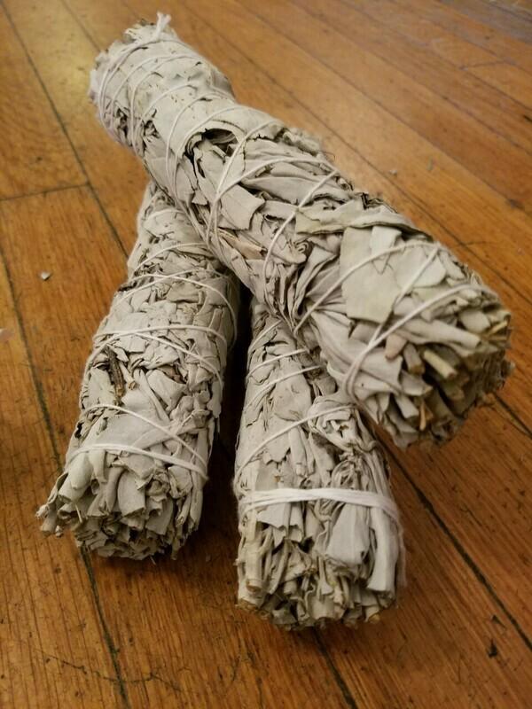 Smudge Large California White Sage Bundles (3 bundles)