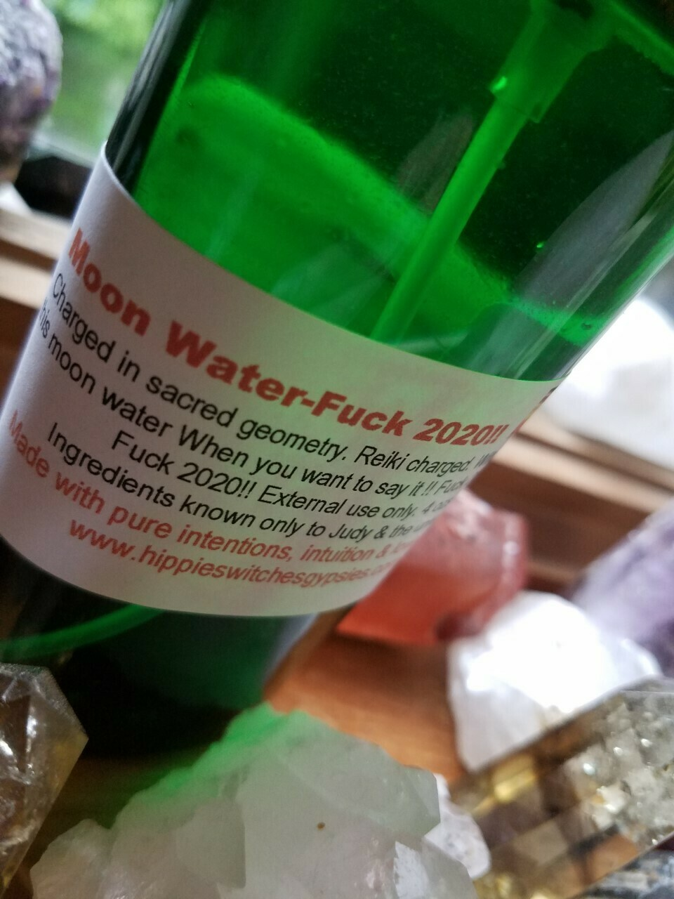 Moon Water-Fuck 2020!!! - 4oz