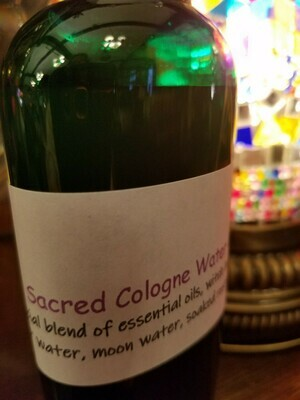 Sacred Cologne Water approx 5 ozs