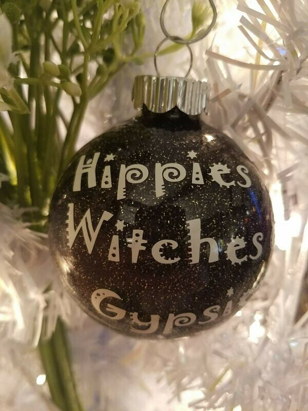 Holiday Ornament, Hippies, Witches, Gypsies , Magic