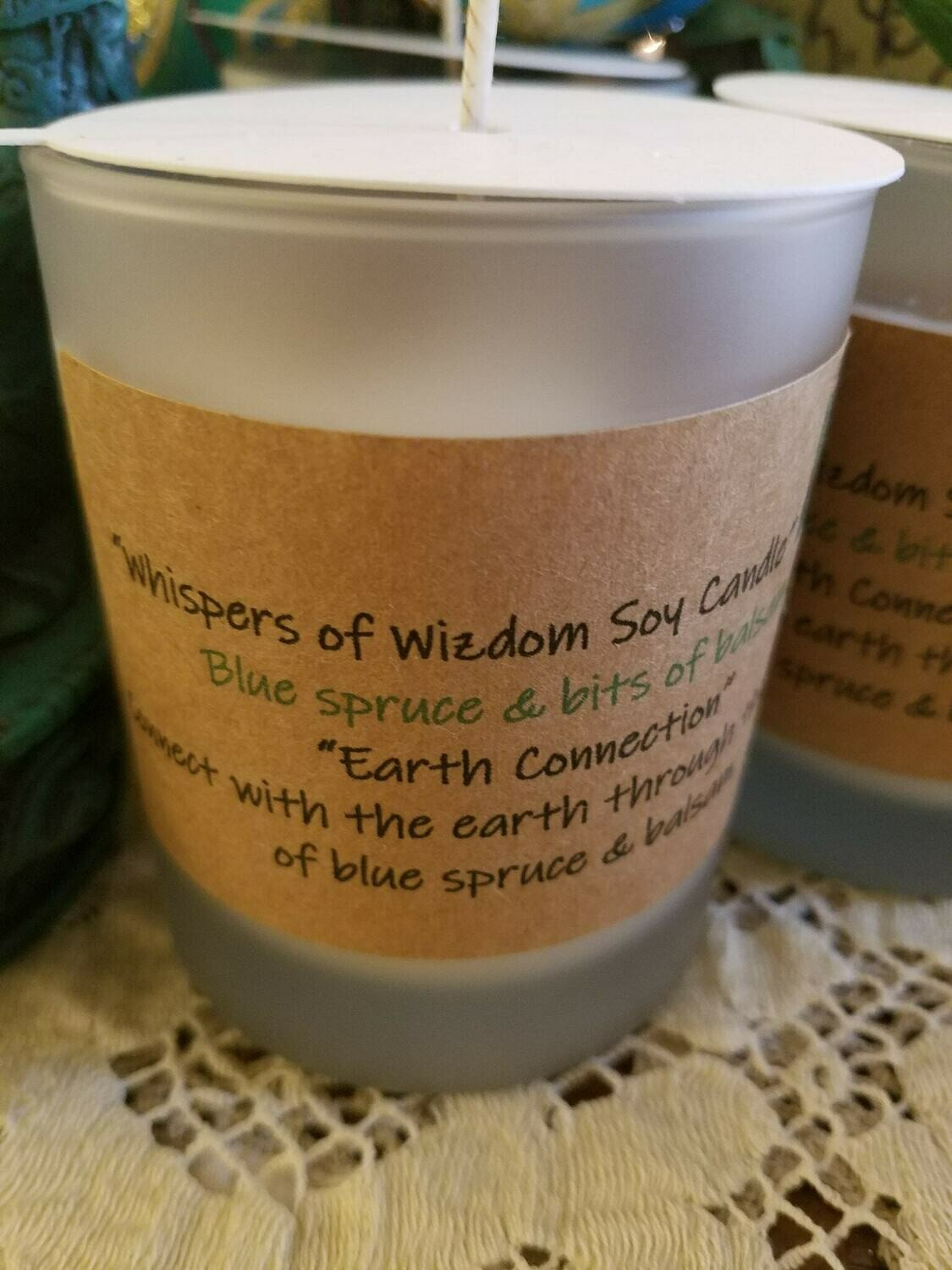 Judy's Soy Candle -Earth Connection-Blue Spruce  (Pick up only)