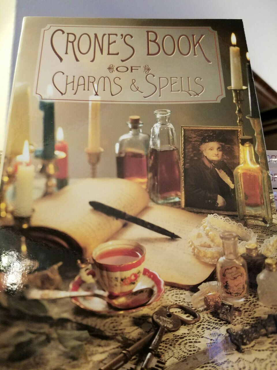 Book- Crone's Book of Charms & Spells (Softcover)
