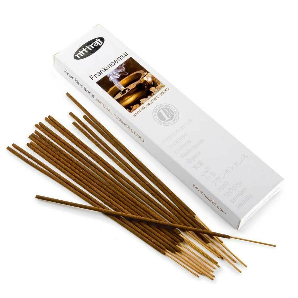 Incense Nitiraj -one pkg frankincense Incense Sticks 25gm