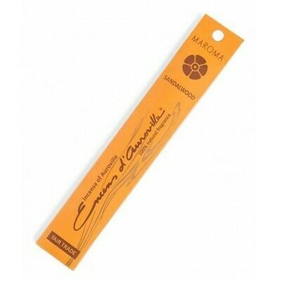 Incense Natural Maroma-Sandalwood (10 sticks)