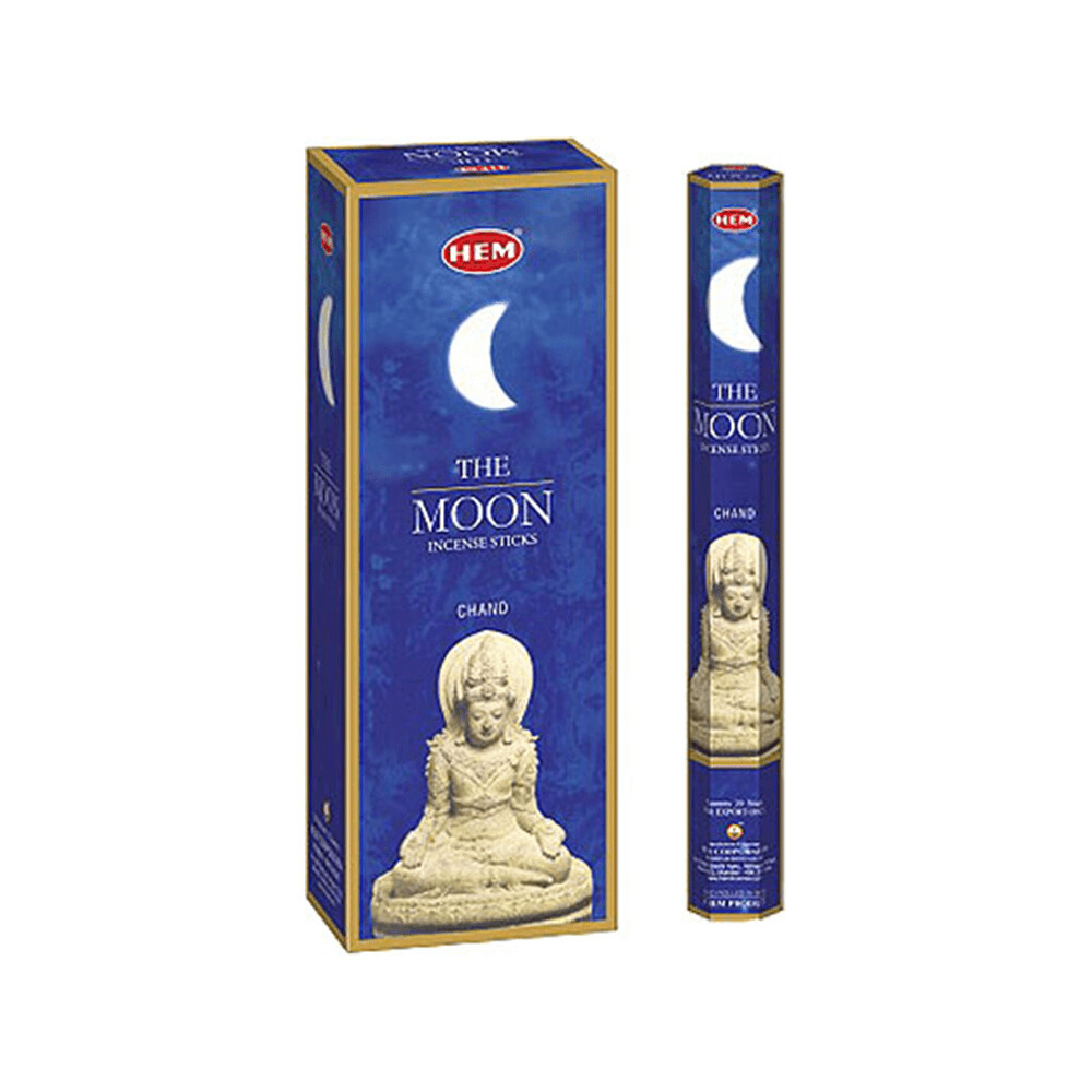 Incense HEM Moon (3 Individual packages) 20 sticks per package