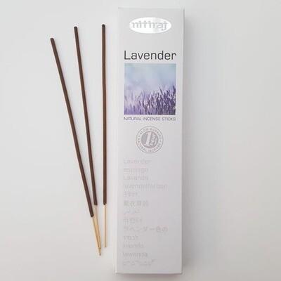 Incense Nitiraj -one pkg lavender Incense Sticks 25gm