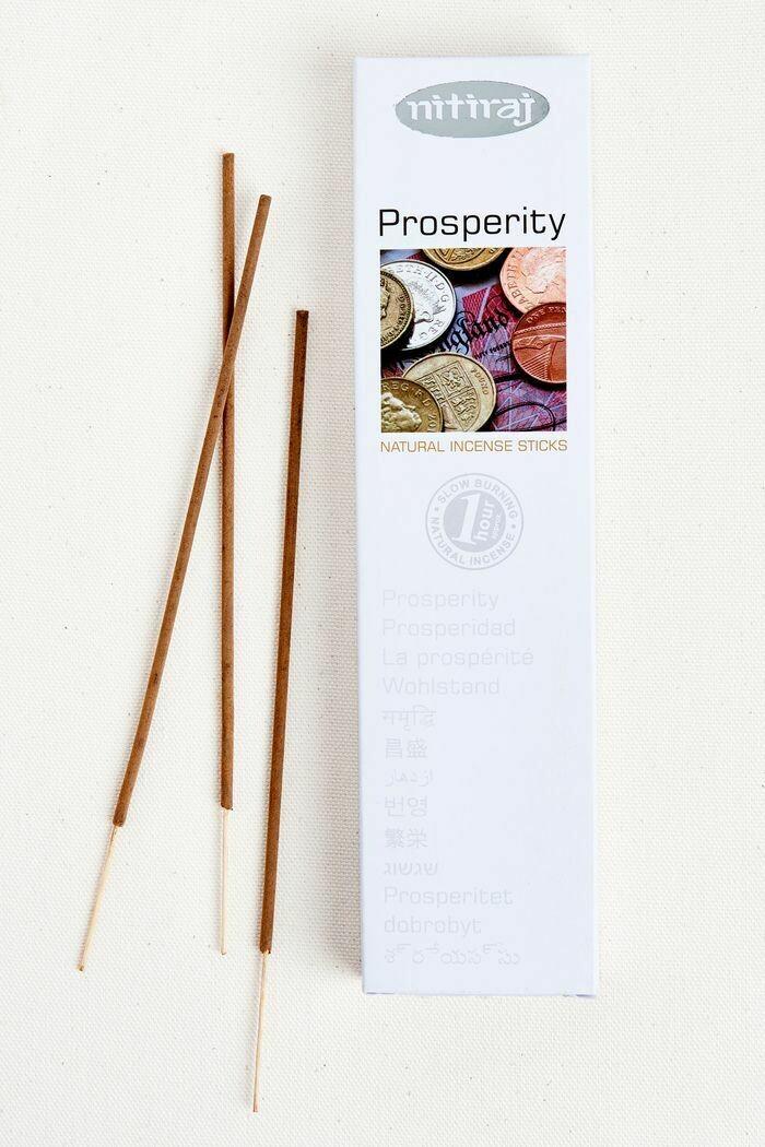 Incense Nitiraj -one pkg prosperity Incense Sticks 25gm