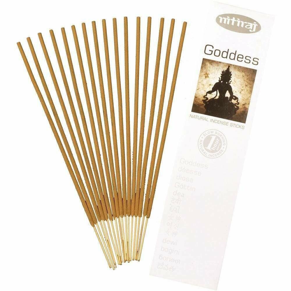 Incense Nitiraj  -one pkg of Goddess 25 gm.