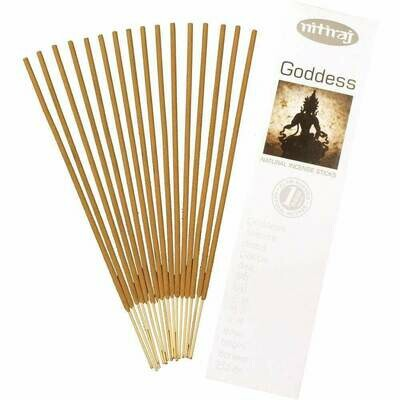 Incense Nitiraj  -one pkg of Goddess 25 gm.