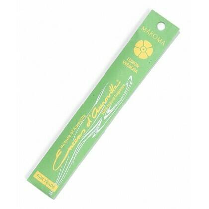 Incense Natural Maroma-Lemon/Verbena (10 sticks)