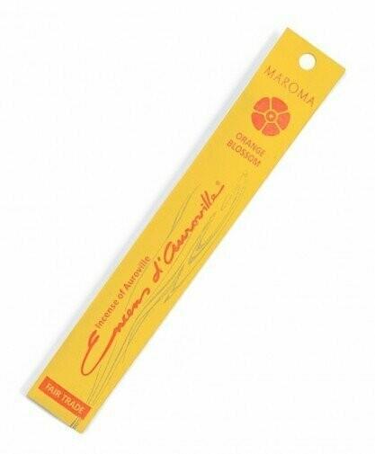 Incense Natural Maroma-Orange Blossom (10 sticks)