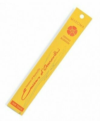Incense Natural Maroma-Orange Blossom (10 sticks)