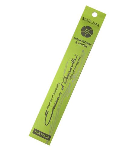 Incense Natural Maroma-Frankincense/Myrrh (10 sticks)