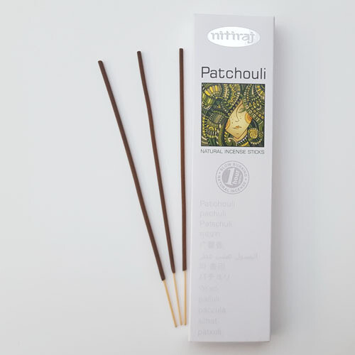 Incense Nitiraj -one pkg patchouli Incense Sticks 25gm