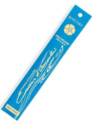Incense Natural Maroma-Peru balsam (10 sticks)