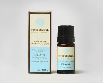 Essential Oil (R.E)  Jasmine 3%/ Organic Jojoba oil-5mls
