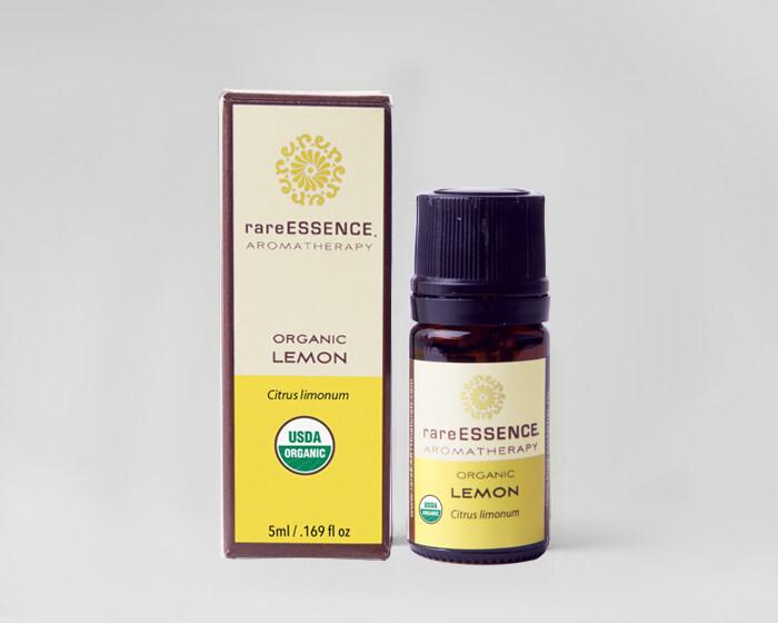 Essential Oil (R.E)  Organic Lemon -5mls