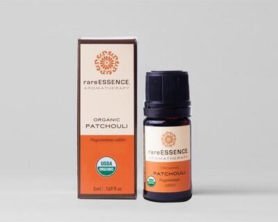 Essential Oil (R.E)  Organic Patchouli -5mls