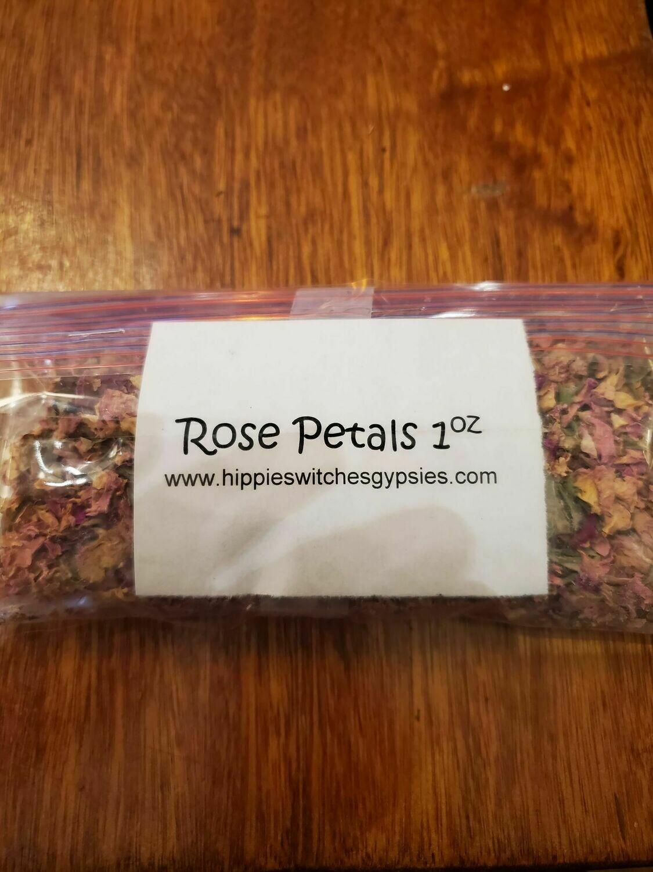 Rose Petals   -1oz  Bag