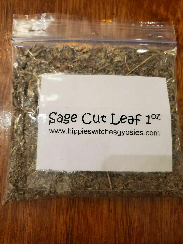 Herb- Dried Cut Sage -1oz  Bag