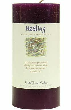 Candle 3x6 Pillar - Healing -Reiki Charged