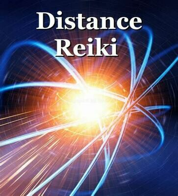 Distance (Remote) Reiki GROUP -30 Minutes-Monday 04/19/2021