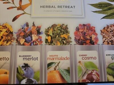Tea-  (Single Steeps)  Herbal Retreat Boxed Premium Loose Tea.