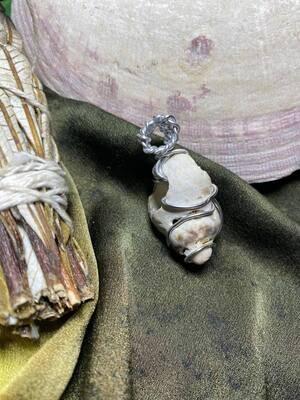 Pendant Newfoundland Seashell-Handmade by Goddess Janelle