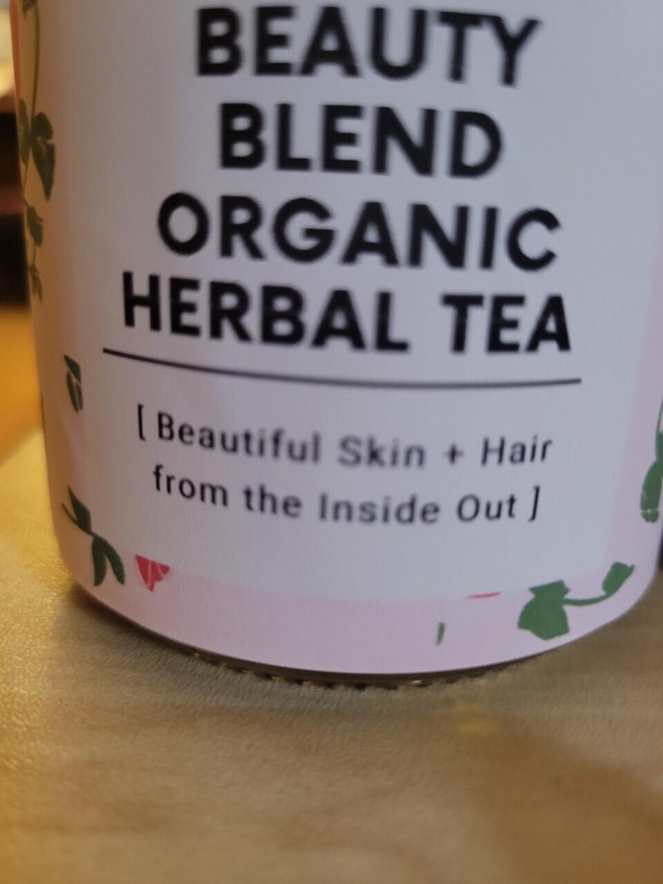 Tea- Organic Herbal Tea Blend