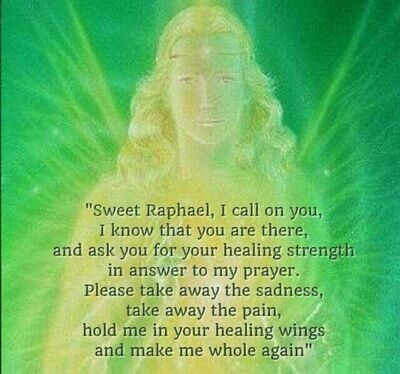 Archangel Raphael Healing Session -With Judy -In Person