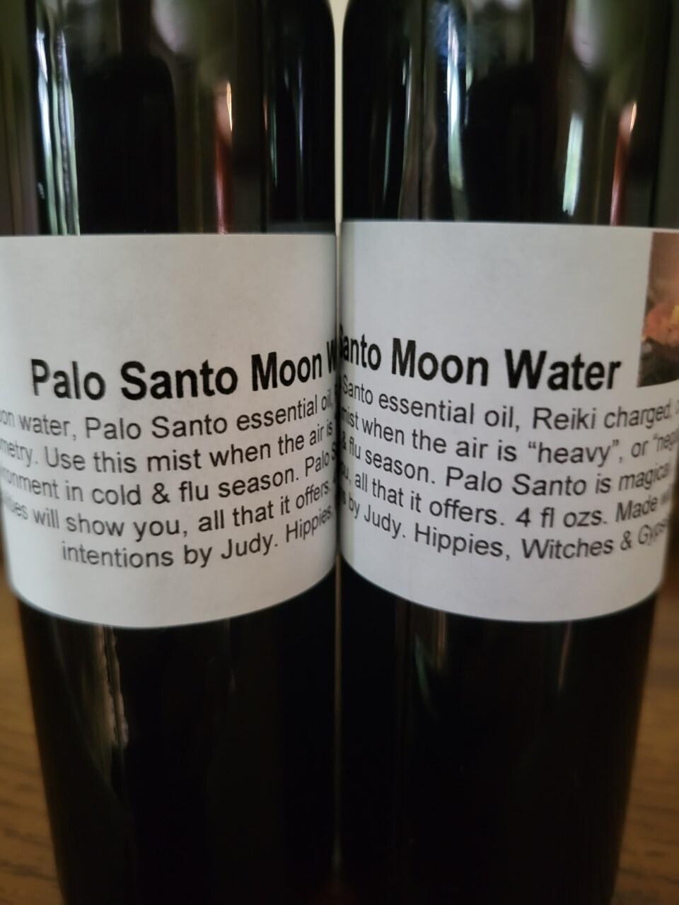 Moon Water Palo Santo 4 ozs (black bottle)